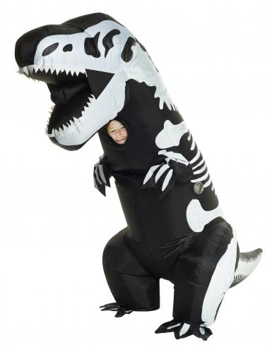 Opblaasbaar T-rex kostuum voor kinderen