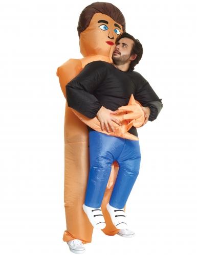 Naakte man Morphsuits™ kostuum voor volwassenen