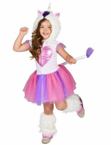 Eenhoorn prinses kostuum voor meisjes-1