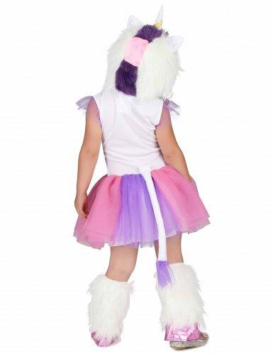 Eenhoorn prinses kostuum voor meisjes-2