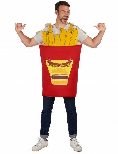 Frietzak kostuum voor volwassenen