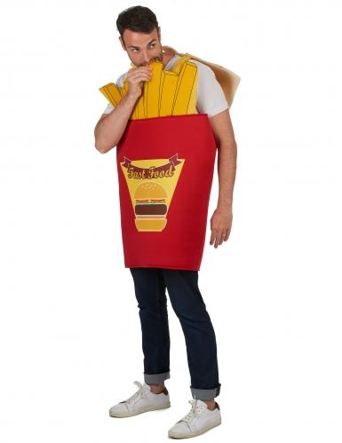 Frietzak kostuum voor volwassenen-1