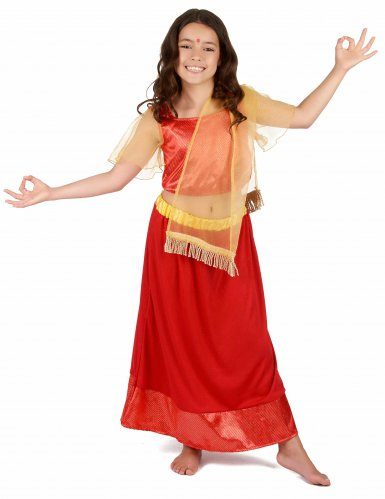 Bollywood danseres kostuum voor meisjes