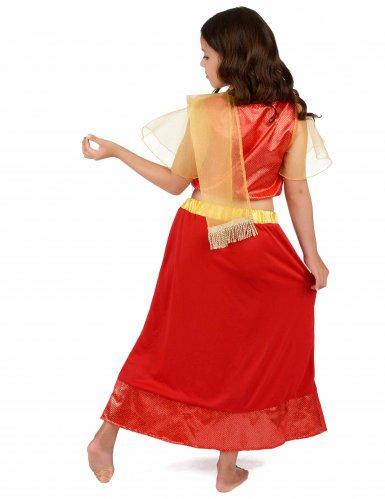 Bollywood danseres kostuum voor meisjes-2