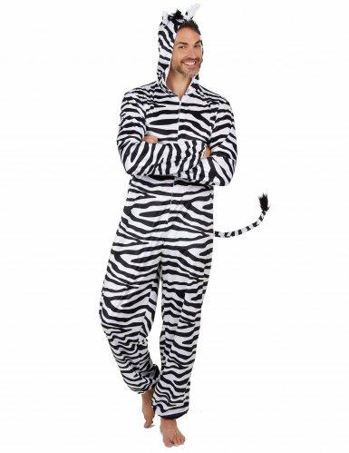 Zebra kostuum voor mannen