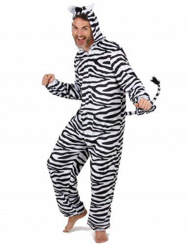 Zebra kostuum voor mannen-1