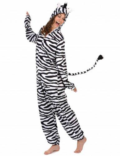 Zebra kostuum voor vrouwen-1