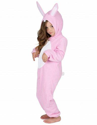 Roze konijn kostuum voor kinderen-1