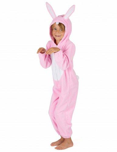 Roze konijn kostuum voor kinderen-3