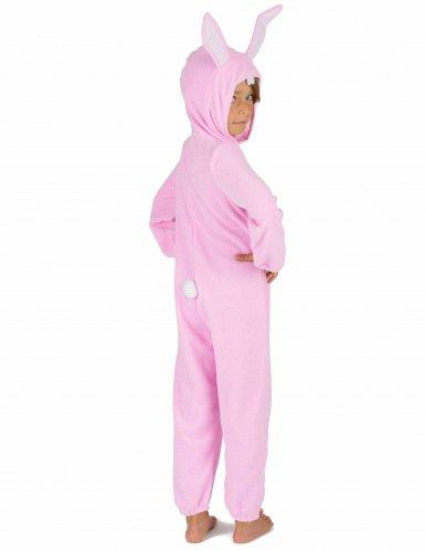 Roze konijn kostuum voor kinderen-4