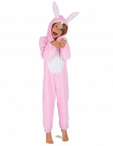 Roze konijn kostuum voor kinderen-5