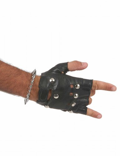 Puntige punk armband voor volwassenen-2