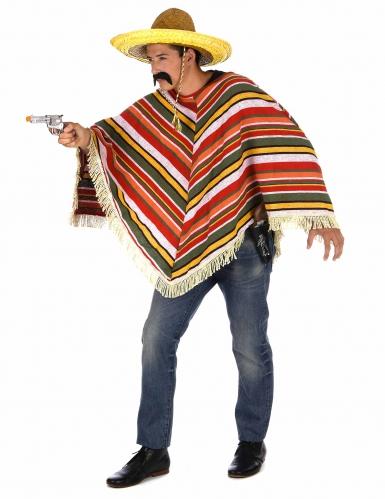 Mexicaanse poncho voor volwassenen-1