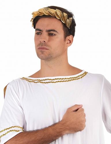 Goudkleurige Caesar lauwerkrans voor volwassenen-1