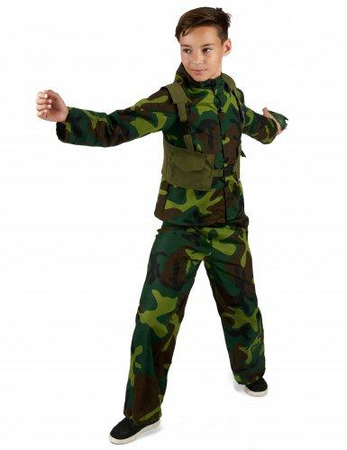 Militair camouflage pak voor jongens-1