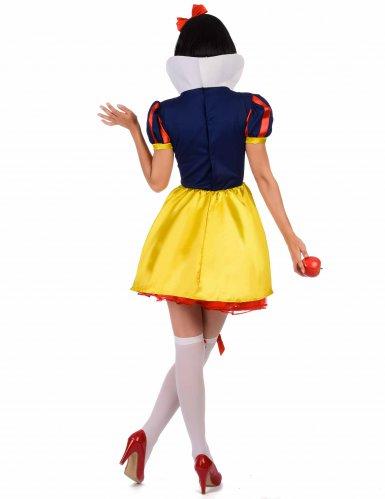 Klassiek Sneeuwwitje kostuum voor vrouwen-2