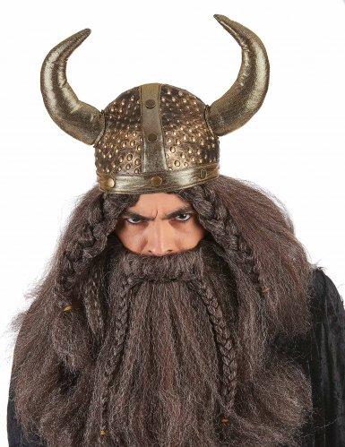 Soepele Viking helm voor volwassenen-1