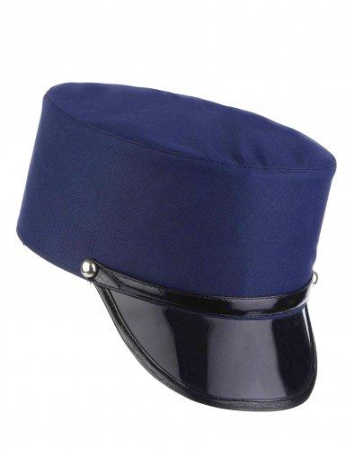 Blauwe politiepet voor volwassenen