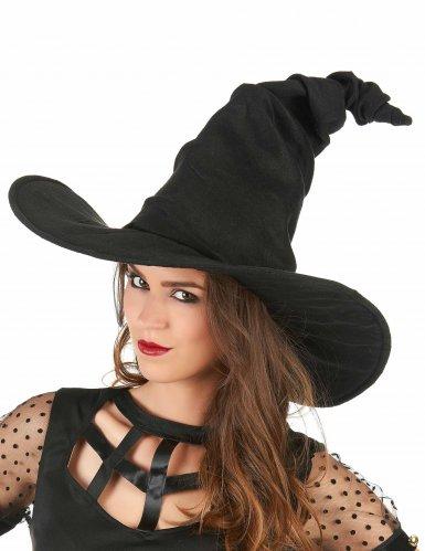 Zwarte heksenhoed voor volwassenen-1