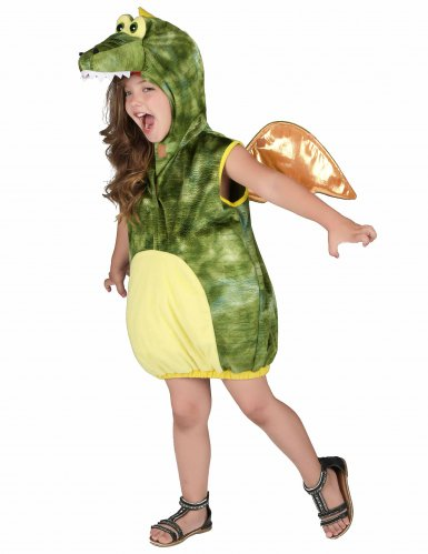 Groene draak outfit voor kinderen-1