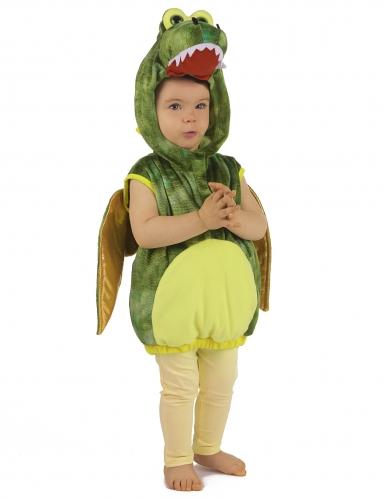 Groene draak outfit voor kinderen-4