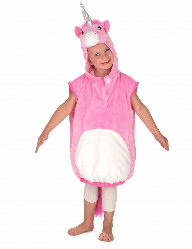 Roze eenhoorn kostuum voor kinderen-2