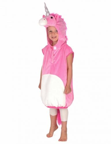 Roze eenhoorn kostuum voor kinderen-5