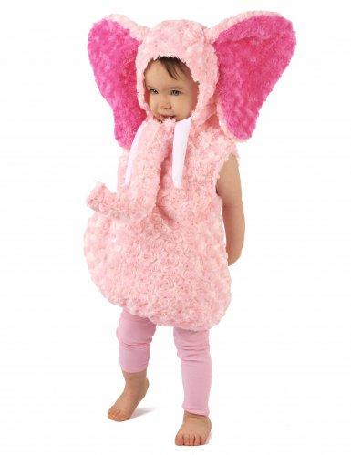 Roze olifant kostuum voor kinderen