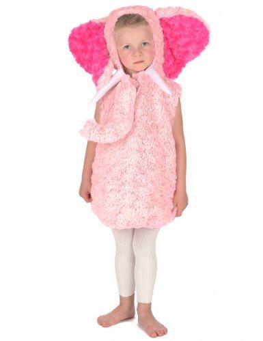 Roze olifant kostuum voor kinderen-4