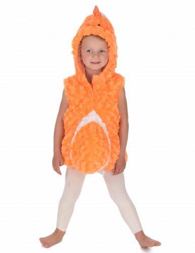 Oranje vis kostuum voor kinderen-2