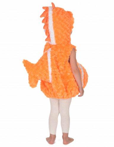 Oranje vis kostuum voor kinderen-3