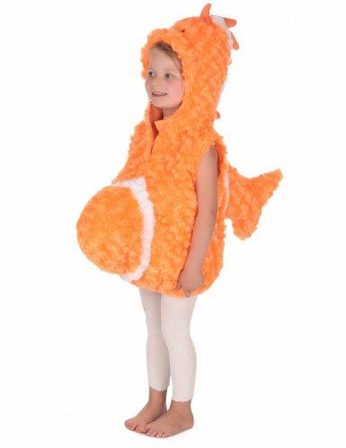 Oranje vis kostuum voor kinderen-4