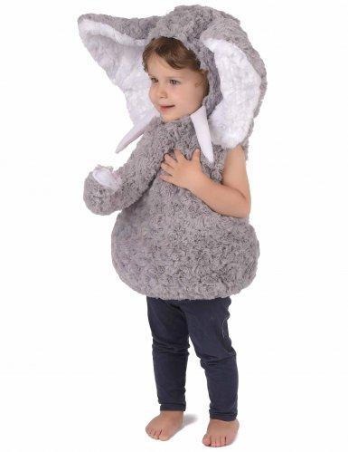 Grijze olifant kostuum voor kinderen -1