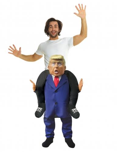 Amerikaanse president carry me Trump kostuum voor volwassenen