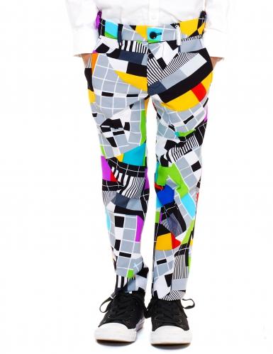 Mr. Testbeeld Opposuits™ kostuum voor kinderen-2