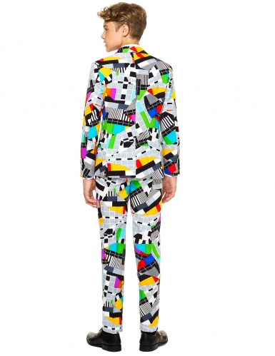 Mr. Testbeeld Opposuits™ kostuum voor tieners-1