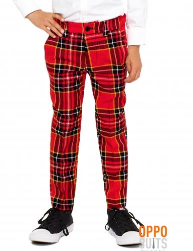 Rood Schots Opposuits™ kostuum voor kinderen-2