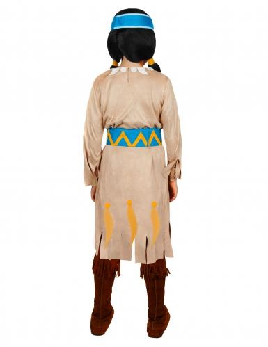 Yakari™ regenboog kostuum voor meisjes-1