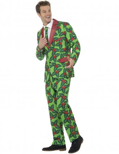 Kerst hulst kostuum voor volwassenen-1