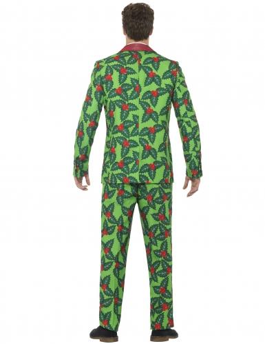 Kerst hulst kostuum voor volwassenen-2