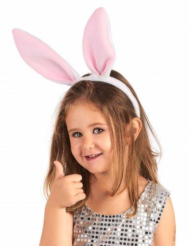 Roze konijn oren haarband voor kinderen-1