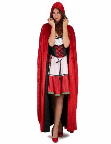Deluxe fluweelachtige cape voor volwassenen-1