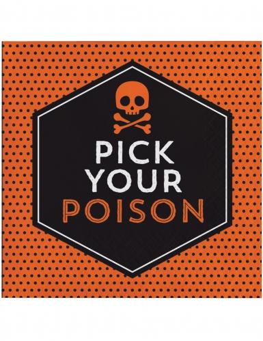 16 Pick your Poison servetten