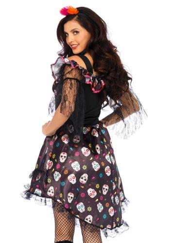 Dia de los Muertos pop kostuum voor vrouwen-1