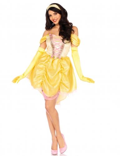 Gele magische prinses kostuum voor vrouwen