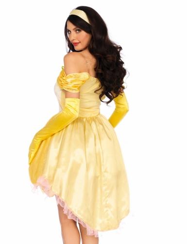 Gele magische prinses kostuum voor vrouwen-1