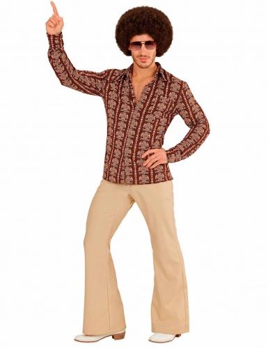 Old school jaren 70 blouse voor mannen