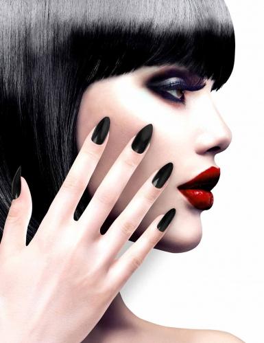 Zwarte nep nagels voor volwassenen