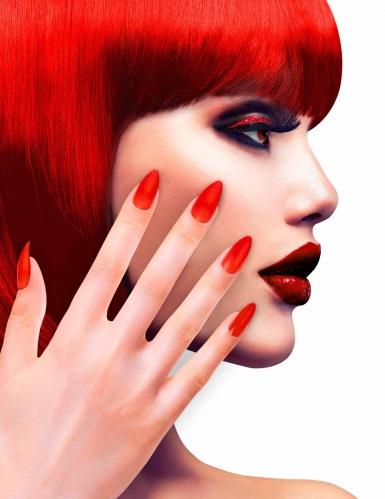 Neppe rode nagels voor volwassenen