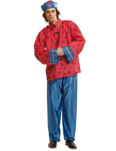 Rood Chinees kostuum voor mannen